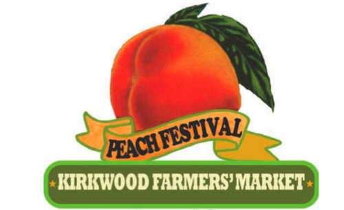 Kirkwood, Missouri Peach Festival logo ♥ KitchenParade.com