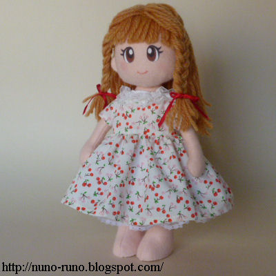 Doll in dress