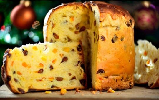 Pan dulce tradicional de Navidad