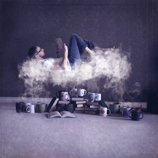 Fotomontaje y humo