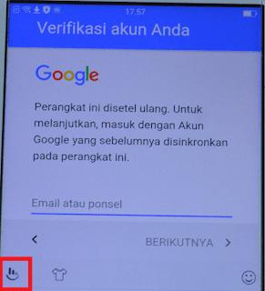cara mengatasi melewati menu verifikasi akun google sebelumnya oppo work 100%