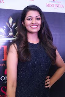 Model Shreya Kamavarapu in Short Black Dress at FBB Miss India 2017 finalists 061.JPG
