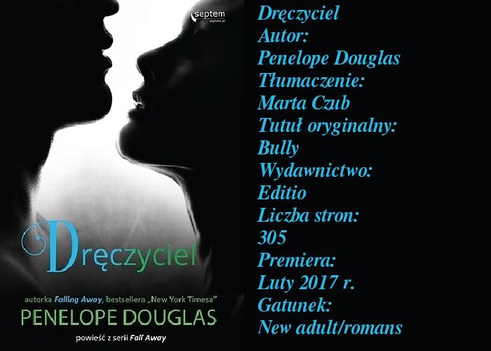 """Ta książka mnie zadręczyła... """"Dręczyciel"""" Penelope Douglas."""