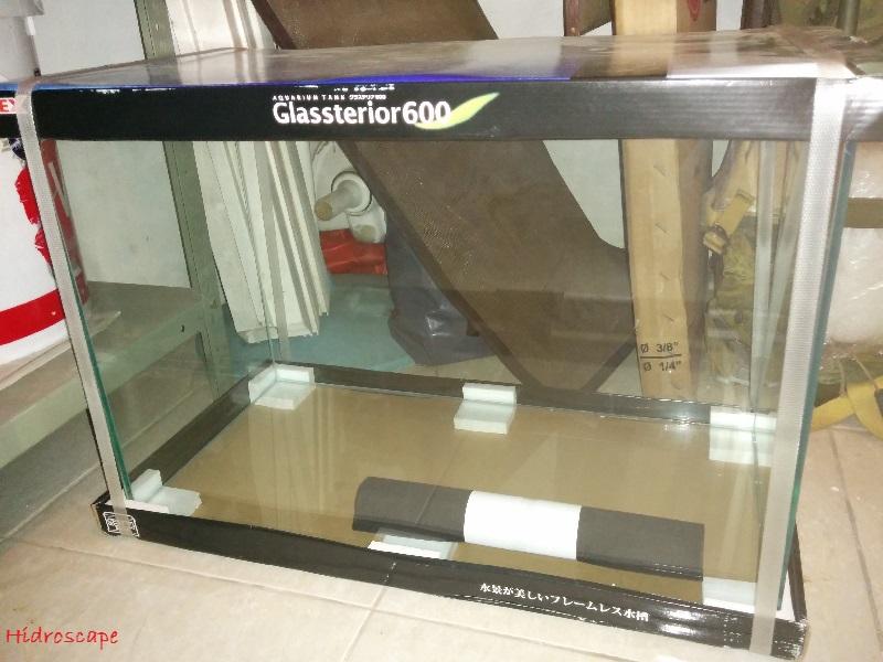 Gambar Daftar Harga Aquarium Kaca Untuk Ikan Hias-Aquarium GEX Glasterior 600