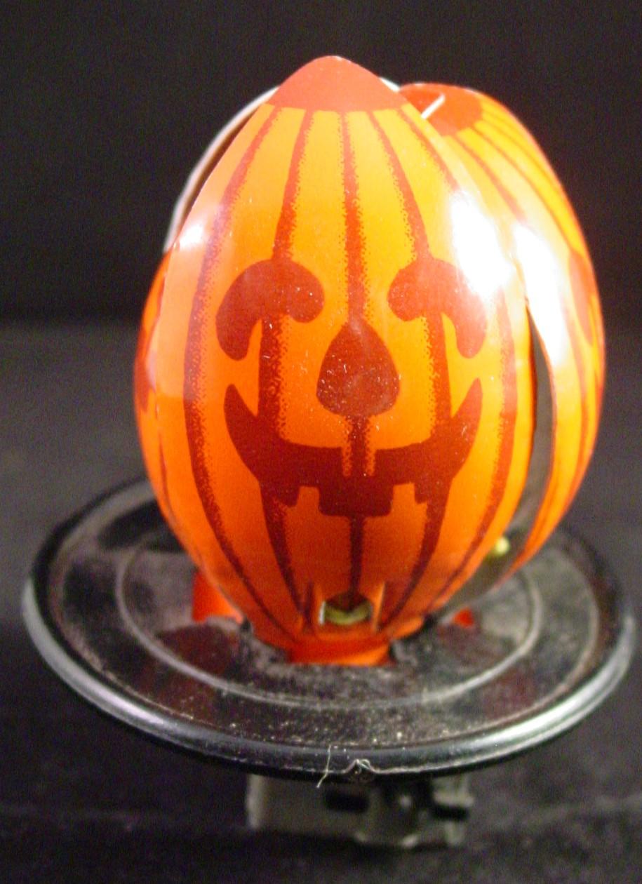 garage sale finds jack o u0027 lantern whirly toy
