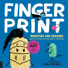 Fingerprint Monsters and Dragons cover