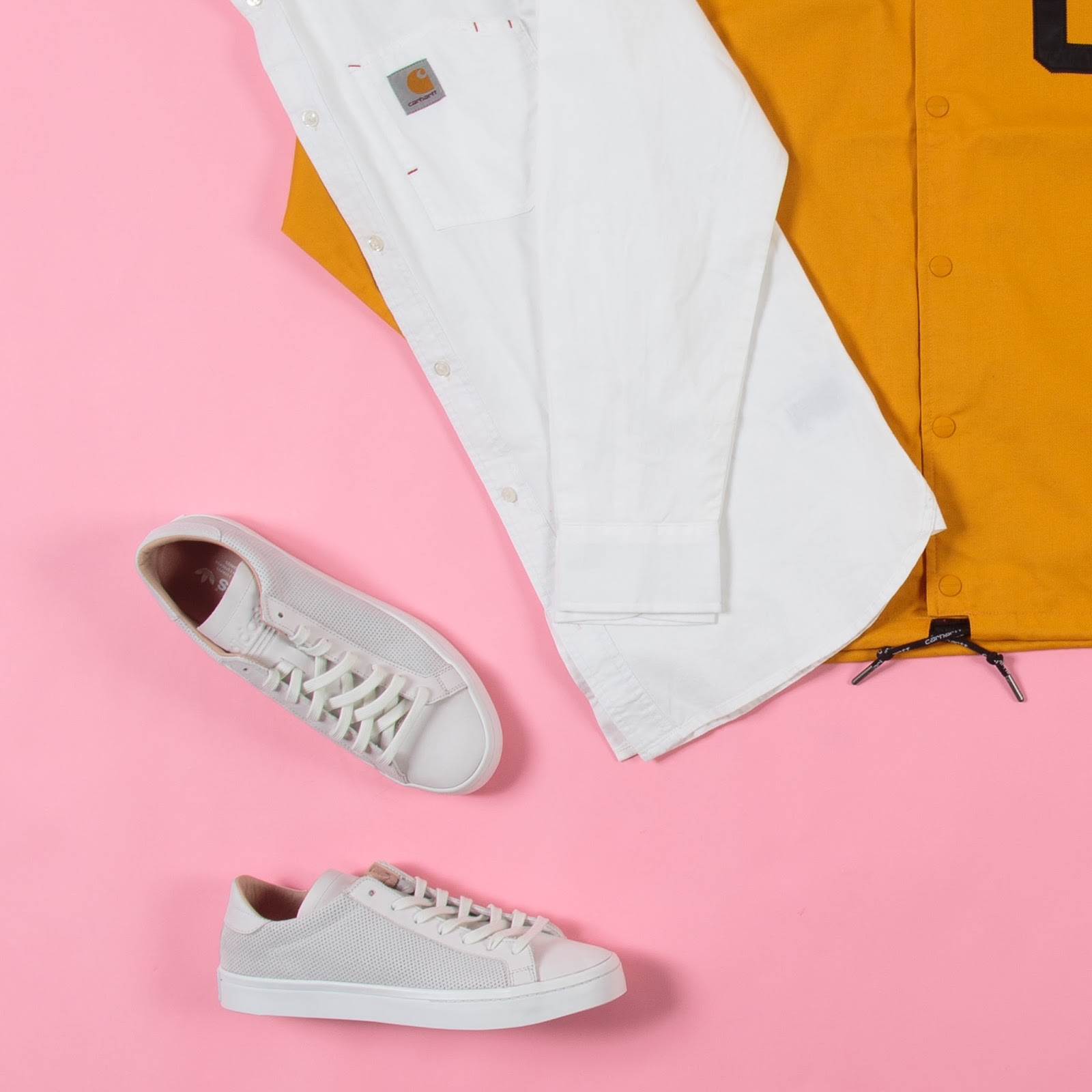 1eff8ff44f8 This week s look is a clean and preppy look filled with reworked workwear  silhouettes from Carhartt WIP.