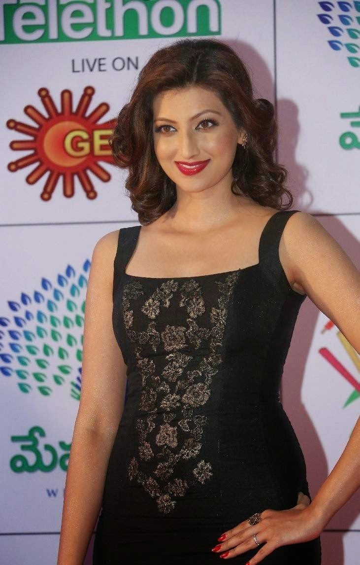 Hamsa Nandini images, Hamsa NandiniHot Hd Pics in Black Dress