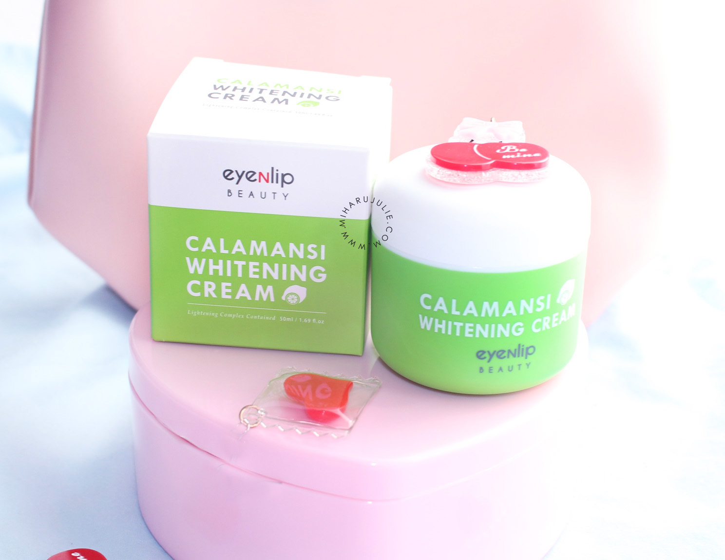 review eyeNlip Calamansi Whitening Cream