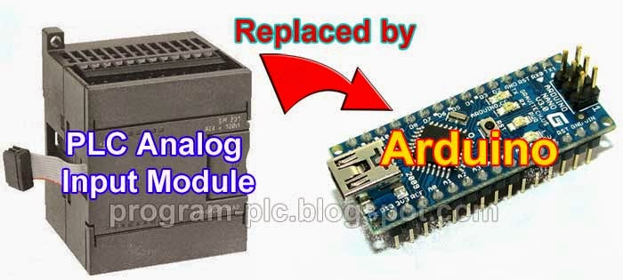 PLC Analog Input Module With Arduino