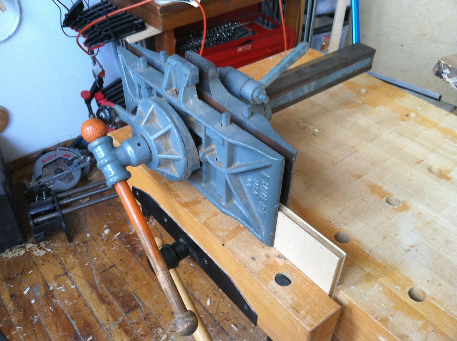 James Watriss Installing The Emmert Pattern Maker S Vise