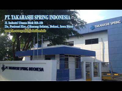 Lowongan Kerja PT TAKAHASHI SPRING INDONESIA