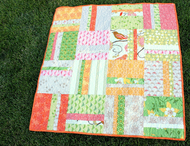 Simple Stripes Quilt Tutorial