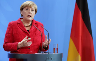 German Chancellor Angela Merkel on Sunday criticized Turkey's use of an Interpol
