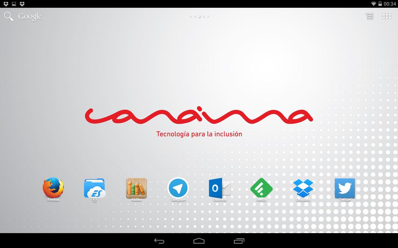 Instala tus apps favoritas en tu tablet Canaima Educativa