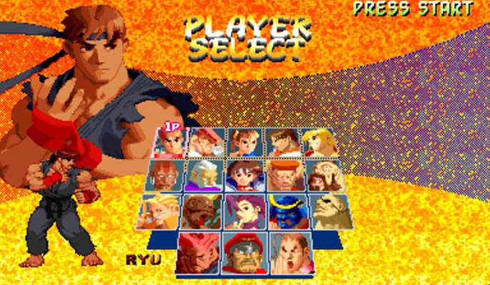 Iso Rom Free: Baixar Street Fighter Alpha 2 PSX PS1 ISO Download