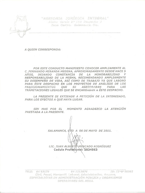 carta de recomendacion en ingles - Ecosia