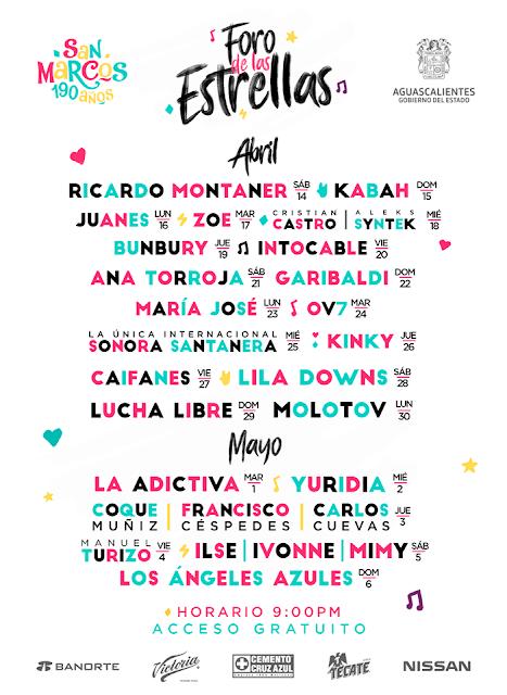 artistas feria san marco 2018