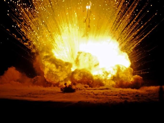 Fuerte Explosión en el ensanche la Fe