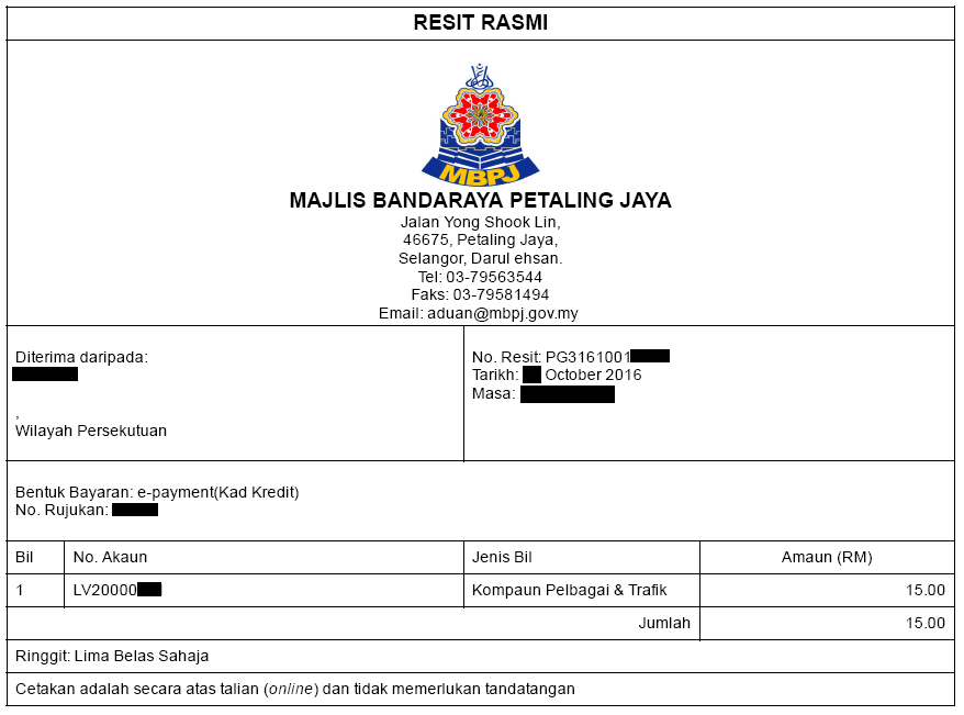 Hacks For Life How To Pay Mbpj Summons With Discount