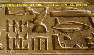 Ancient Egypt has some very interesting Hieroglyphics on their tomb walls showing an helicopter, submarine, tank.