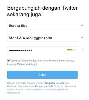 Cara Daftar dan Membuat Akun Twitter Terbaru 1