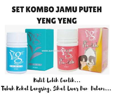 Set Kombo Jamu Puteh Yeng Yeng