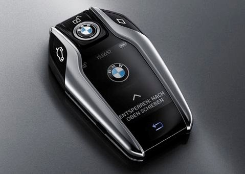 BMW's latest smart key allows you to move the car in and out of parking space while standing outside