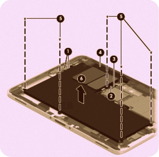 ELECTRONIC EQUIPMENT REPAIR CENTRE : HP ElitePad 1000 G2