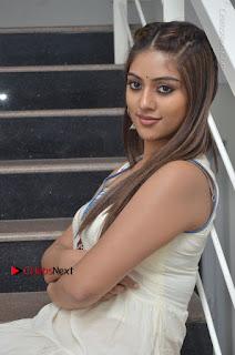 Telugu Actress Anu Emmanuel New Stills in Beautiful White Long Dress  0062.JPG