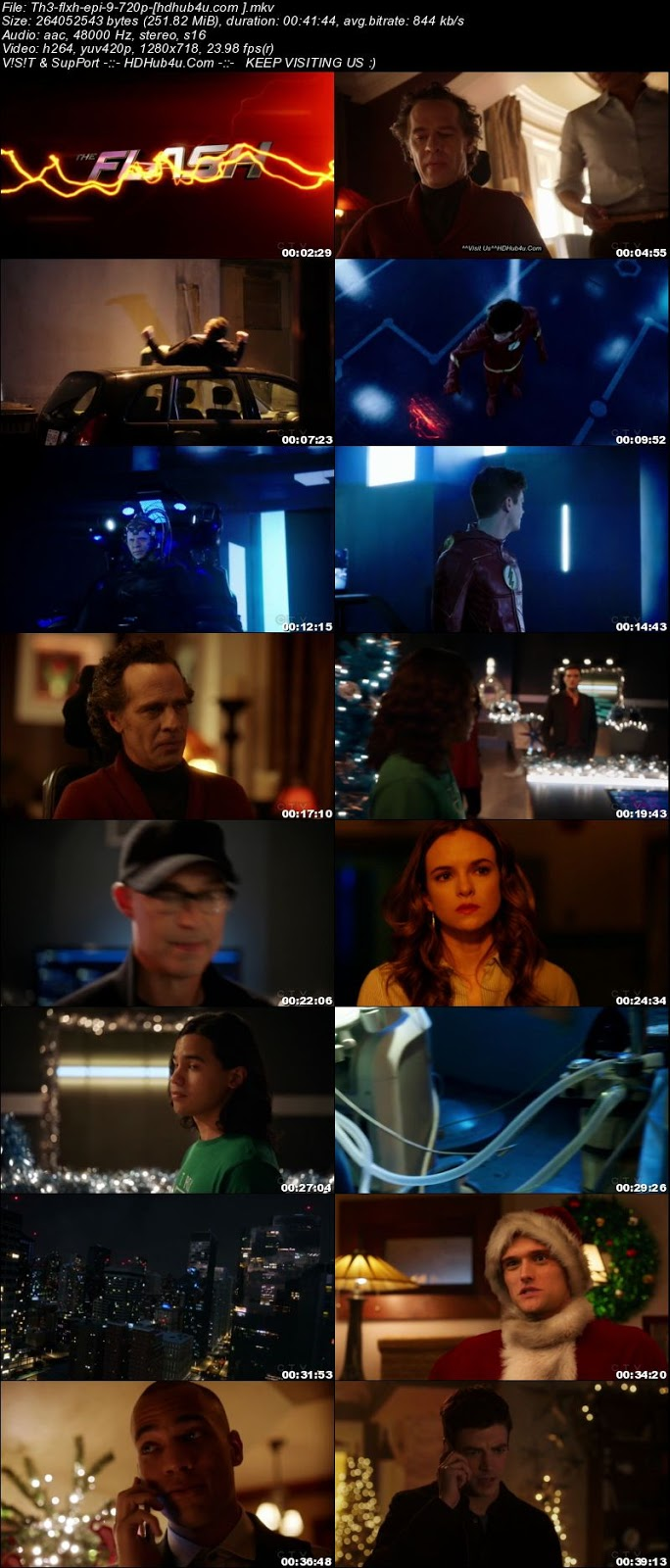 The Flash S04E09 HDTV 720p 250MB Download