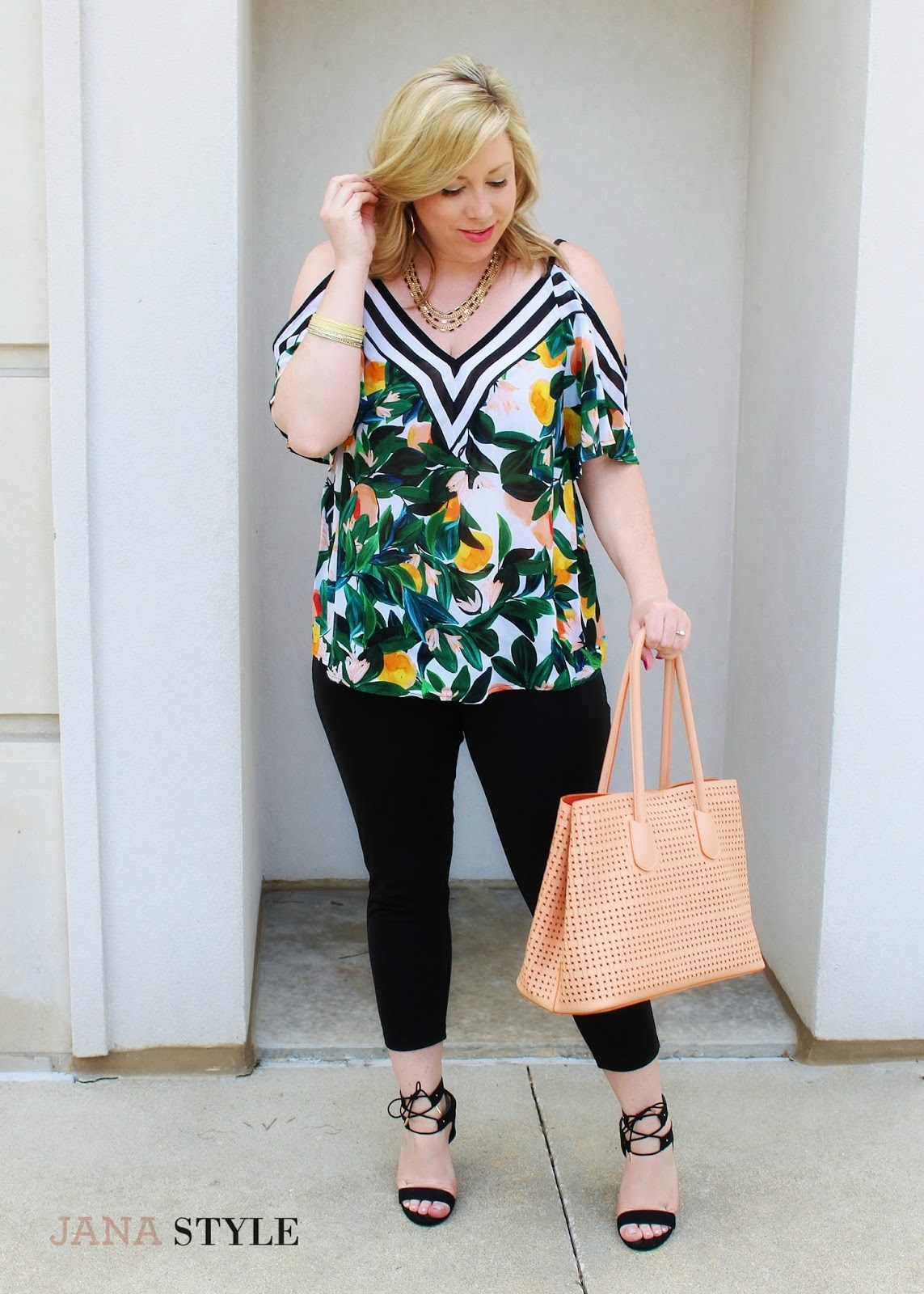 Cold Shoulder Tops Still Fashion