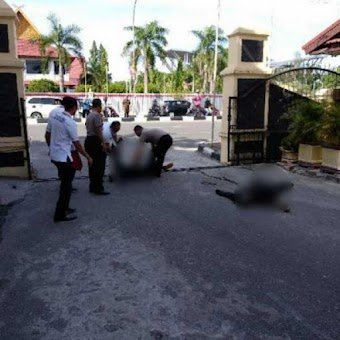 Kronologis Kejadian Teror di Polda Riau