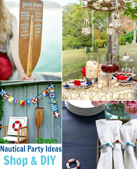 Nautical Party Ideas | Stylish Decorations