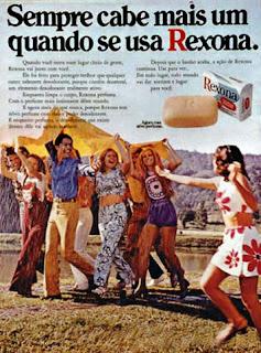 propaganda sabonete Rexona - 197; propaganda anos 70; história da década de 70; reclames anos 70; brazil in the 70s; Oswaldo Hernandez