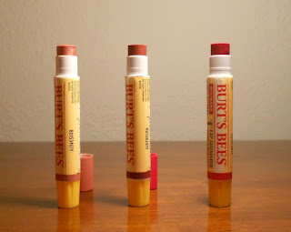 Burt's Bees Lip Shimmer Gift Set uncapped.jpeg