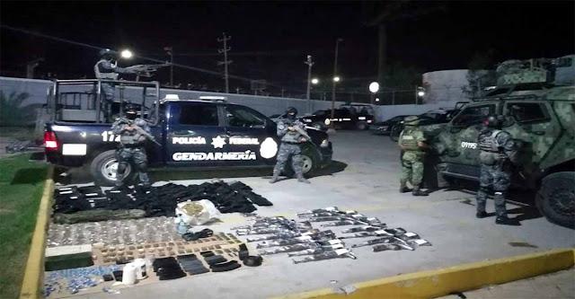 Descubren arsenal de armas del CDG enterrado en Reynosa