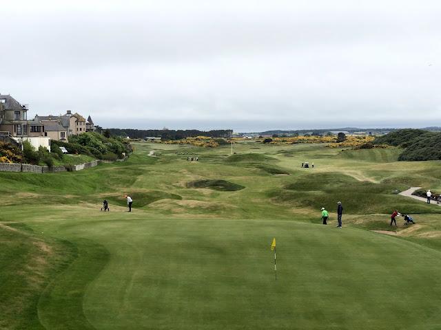 Moray Golfin viimeinen viheriö
