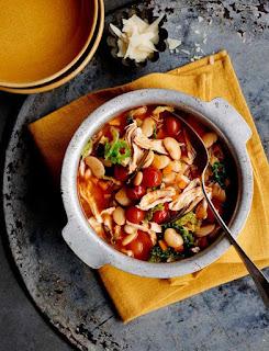 Fast Chicken & Butter Bean Stew