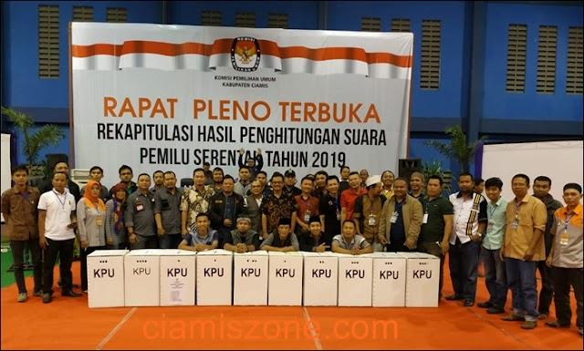 Direkap Selama Tiga Hari, Prabowo-Sandi Unggul 59,21% di Ciamis