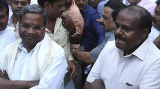 कर्नाटक की जंग, हैदराबाद पहुंचने वाली है JDS-कांग्रेस MLAs को लेकर जा रही बस