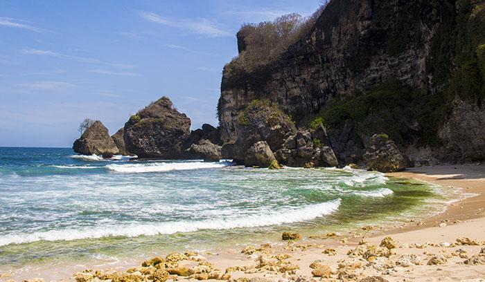 Pantai Krokoh yang Sunyi