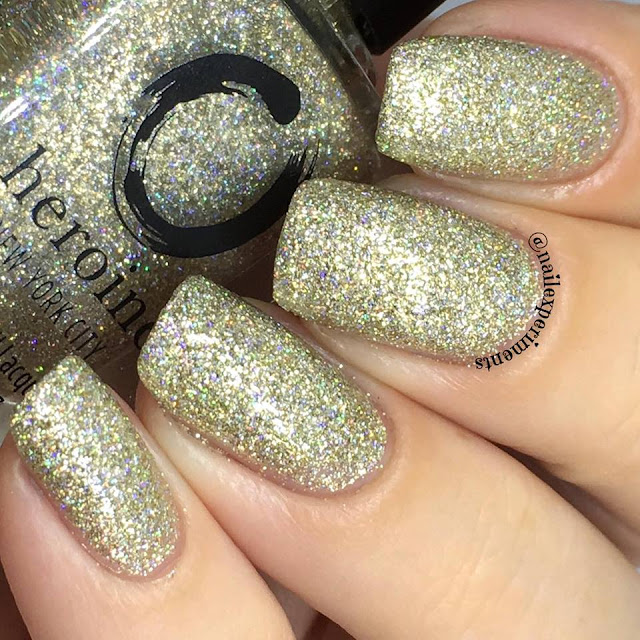 Heroine new york city polish in gold digger