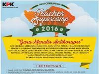 Anti-Corruption Teacher Supercamp 2016