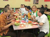 Wakil Wali Kota & Bupati Batanghari Sarapan Pagi Bersama