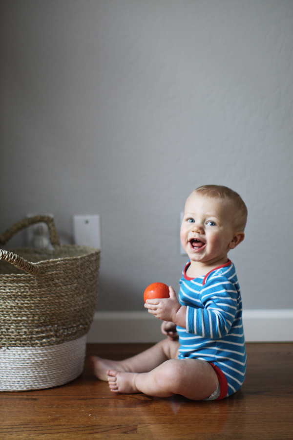 Ten-month-old baby