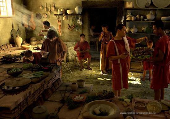 A casa con  i romani Impero di Alberto Angela