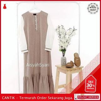 Jual RRJ347D114 Dress Dress Aisyah Wanita Vg Ff Terbaru BMGShop