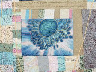 Japanese Anemone, by Sue Reno, detail 3