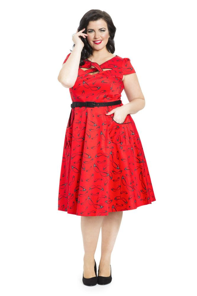 baa175d42fd The Connie Dress is so adorable! I have worn glasses since I was 8 years  old so the kitschy vintage glasses print is perfect for me